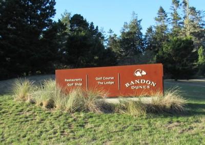 Bandon Dunes Sign