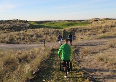 Bandon Trails Hole 1 Path