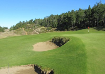 Bandon Trails Hole 14 Bunkers
