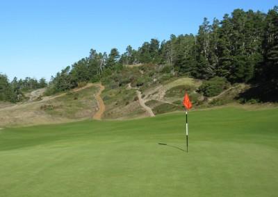Bandon Trails Hole 14 Green