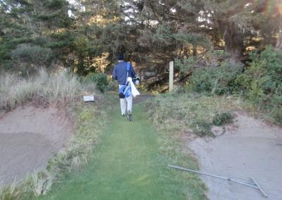 Bandon Trails Hole 3 Tee Path