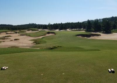 Sand Valley Resort Mammoth Dunes Golf Course Hole 8 Par 3 Tee