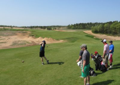 Sand Valley Resort Sand Valley Course Hole 1 Tee Group