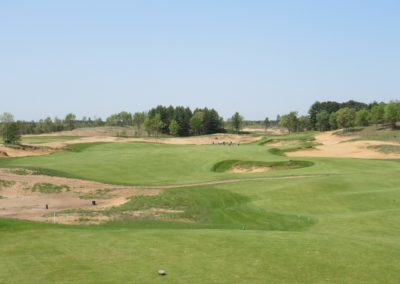 Sand Valley Resort Sand Valley Course Hole 2 Tee