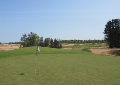 Sand Valley Resort Sand Valley Course Hole 3 Green