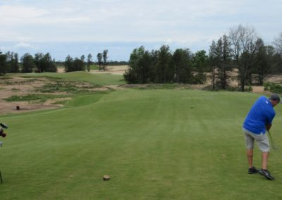 Sand Valley Resort Sand Valley Course Hole 3 Tee