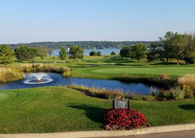 Geneva National Golf Resort Clubhouse View