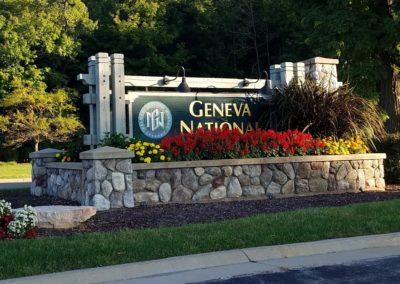 Geneva National Golf Resort Entrance Sign