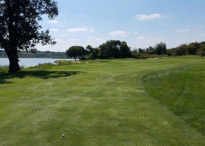 Geneva National Golf Resort Palmer Course Hole 17 2nd Shot