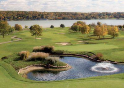 Geneva National Golf Resort Palmer Course Hole 18 Fall