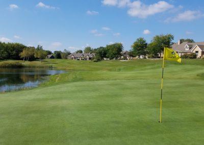 Geneva National Golf Resort Palmer Course Hole 8 Par 3 Green