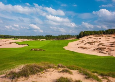 Sand Valley Resort Mammoth Dunes Course Hole 1 STOCK