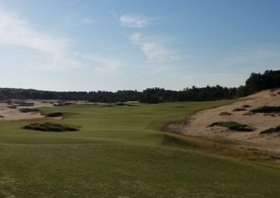 Sand Valley Resort Mammoth Dunes Golf Course Hole 1 Tee