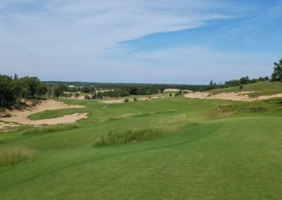 Sand Valley Resort Mammoth Dunes Golf Course Hole 14 Armchair Architect Hole