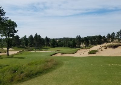 Sand Valley Resort Mammoth Dunes Golf Course Hole 16 Par 3 Tee