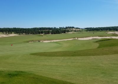Sand Valley Resort Mammoth Dunes Golf Course Hole 18 Green View