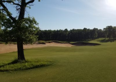Sand Valley Resort Mammoth Dunes Golf Course Hole 2 Approach