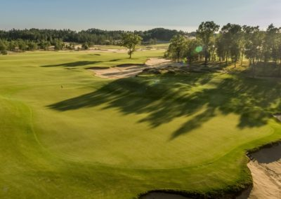 Sand Valley Resort Mammoth Dunes Golf Course Hole 2 Green View STOCK