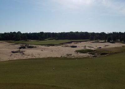 Sand Valley Resort Mammoth Dunes Golf Course Hole 2 Tee