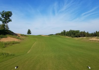 Sand Valley Resort Mammoth Dunes Golf Course Hole 4 Par 3 Tee