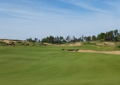 Sand Valley Resort Mammoth Dunes Golf Course Hole 5 Right Side Approach