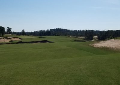 Sand Valley Resort Mammoth Dunes Golf Course Hole 7 Approach