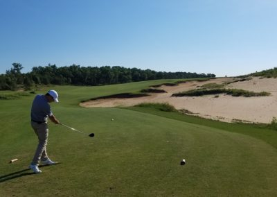 Sand Valley Resort Mammoth Dunes Golf Course Hole 7 Tee Jeffrey B