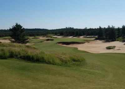 Sand Valley Resort Mammoth Dunes Golf Course Hole 8 Par 3 Back Tee