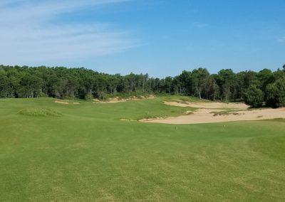 Sand Valley Resort Mammoth Dunes Golf Course Hole 9 Tee