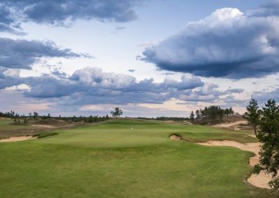 Sand Valley Resort Sand Valley Course Hole 1 Green STOCK