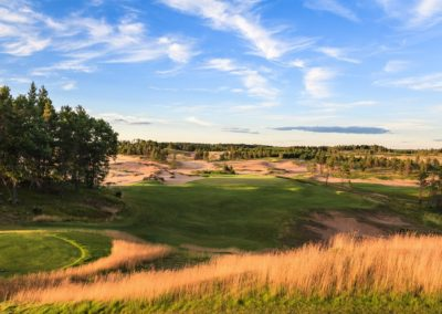 Sand Valley Resort Sand Valley Golf Course Hole 5 Par 3 Tee STOCK