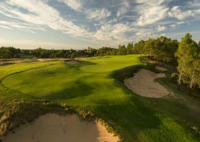 Sand Valley Resort Sand Valley Golf Course Hole 8 Par 3 Green STOCK