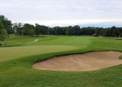 Brown Deer Golf Course Hole 1 Bunker