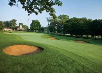 Brown Deer Golf Course Hole 18
