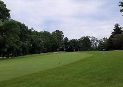 Brown Deer Golf Course Hole 2 Approach