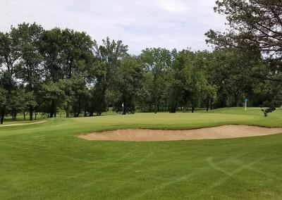 Brown Deer Golf Course Hole 2 Green