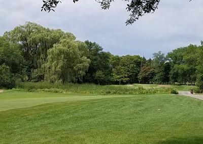 Brown Deer Golf Course Hole 4 Second Shot
