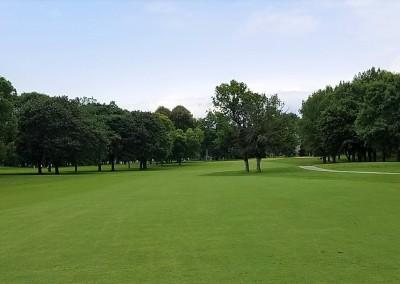 Brown Deer Golf Course Hole 6 Second Shot