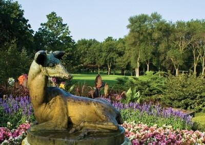 Brown Deer Golf Course Statue