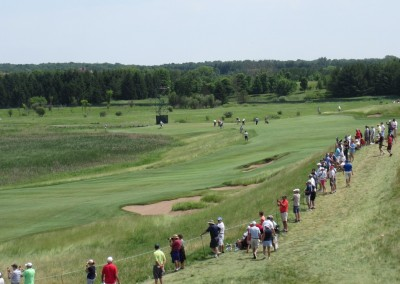 Erin Hills Golf Course 2017 U.S. Open Hole 1