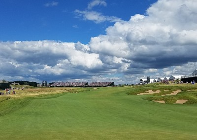 Erin Hills Golf Course 2017 U.S. Open Hole 18 Sunday View