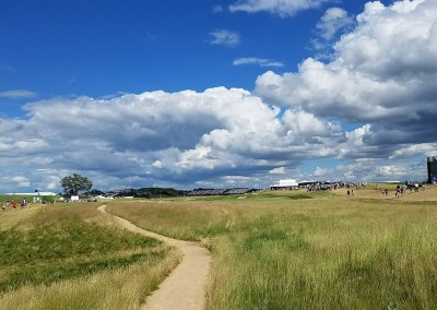 Erin Hills Golf Course 2017 U.S. Open Hole 18 Walkway