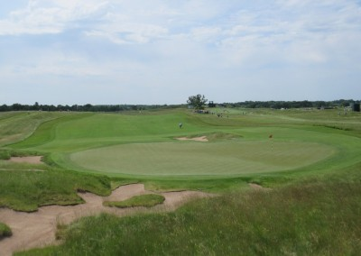 Erin Hills Golf Course 2017 U.S. Open Hole 5 Green