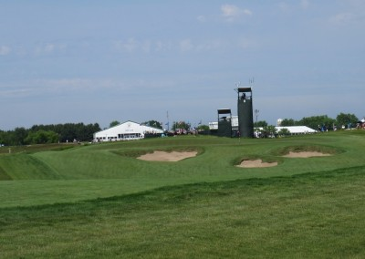 Erin Hills Golf Course 2017 U.S. Open Hole 8 Green