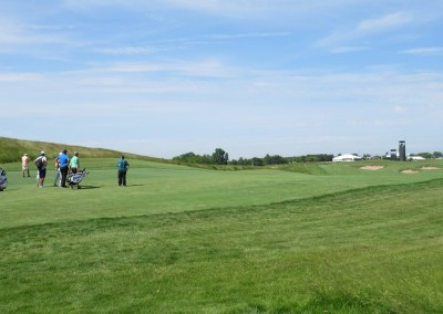 Erin Hills Golf Course 2017 U.S. Open Hole 8 Long Approach