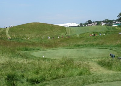 Erin Hills Golf Course 2017 U.S. Open Hole 8 Tee
