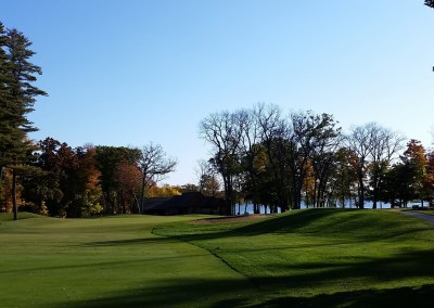 Golf Courses of Lawsonia - Woodlands Course - Hole 5 Approach