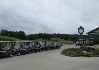 Hawks View Golf Course Clock