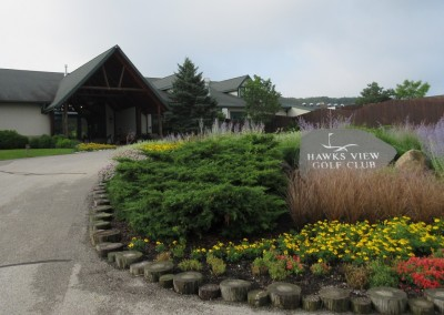 Hawks View Golf Course Drop Off