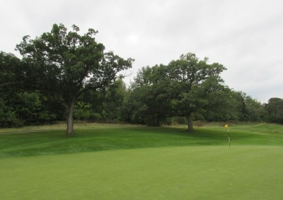 Hawks View Golf Course Hole 1 Green